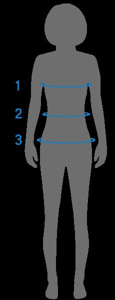 Female Shirts & Tops Sizing